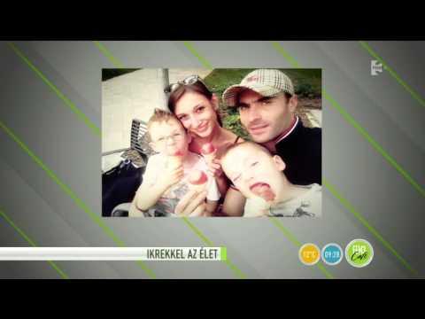 Elbűvölőek Apáti Bence ikrei! - tv2.hu/fem3cafe