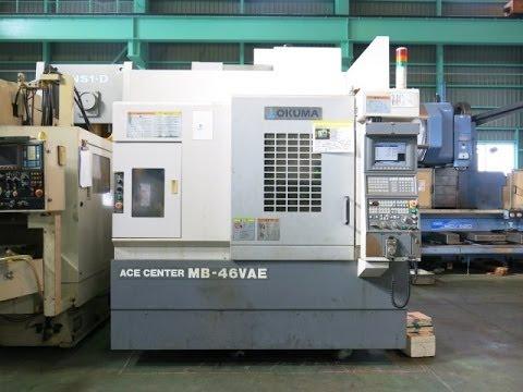 23895 立型マシニングセンター(BT40型) オークマ MB-46VAE 2005年