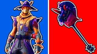 Scarecrows, Dark Rainbow Smash & MORE! *NEW* Fortnite Skins Review!