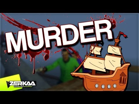 PIRATE SHIP MADNESS   Murder Funny Moments (Garry's Mod)
