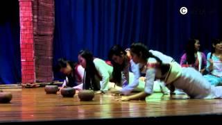 Sân khấu hóa Lễ hội Ra_mư_wan - SV Chăm Dự bị HCM