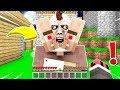 FAKİR CANAVAR KÖYLÜYÜ BULDU! 😱 - Minecraft