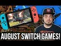 The BEST Nintendo Switch Games for August! | RGT 85