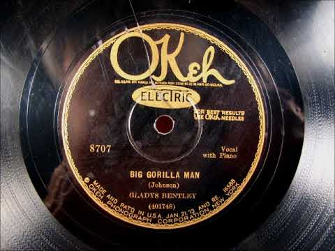 BIG GORILLA MAN Blues by Gladys Bentley from 1929 Mp3