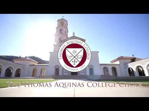 Praying Twice: The Thomas Aquinas College Choir