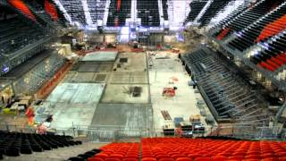 London 2012 Basketball Arena time-lapse video