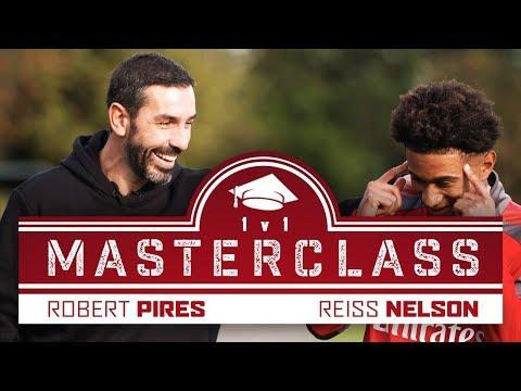 Robert Pires & Reiss Nelson | Episode 2 | Masterclass: 1 v 1s