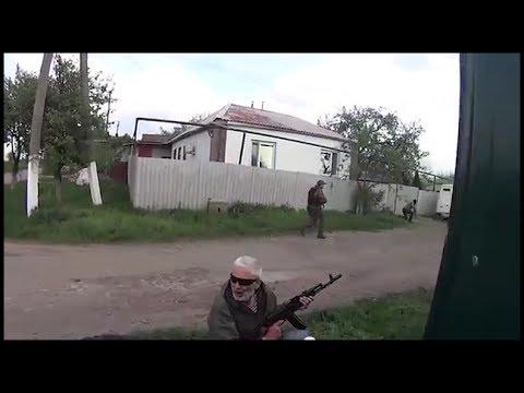 Славянск. Перестрелка. Хунта