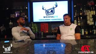MooseTV: Part 1 of Full Gronk Interview - Speaks on relationship with Moose and Training Regiment