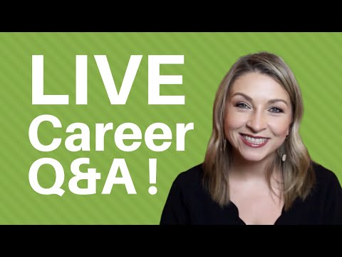 Live Career Coaching I Answer Your Resume Interview And Job Search Questions