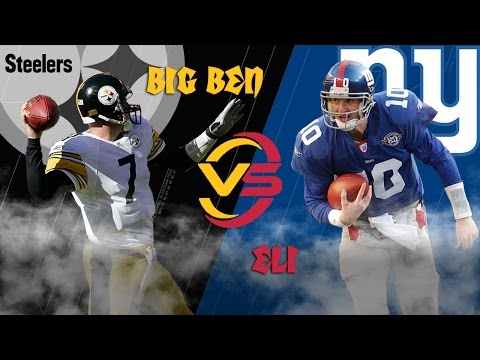 Steelers vs. Giants (2004 Highlights) | Big Ben vs. Eli Manning: Battle of the Rookies | NFL