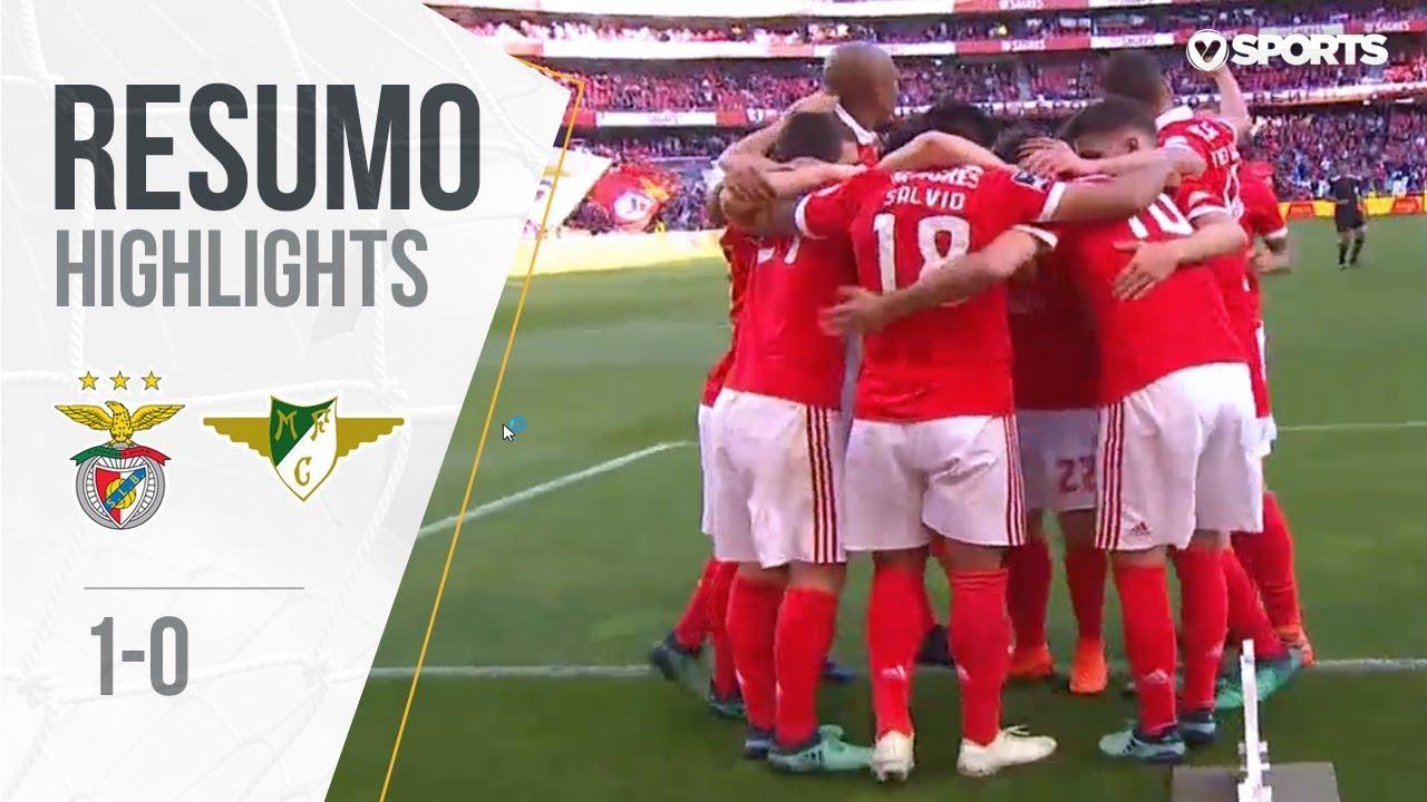 Resumo Benfica: Resumo: Benfica 1-0 Marítimo (Liga 17/18 #34