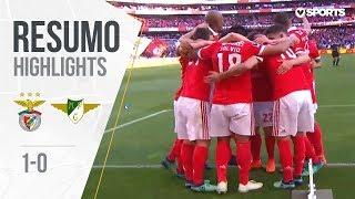Highlights | Resumo: Benfica 1-0 Marítimo (Liga 17/18 #34)