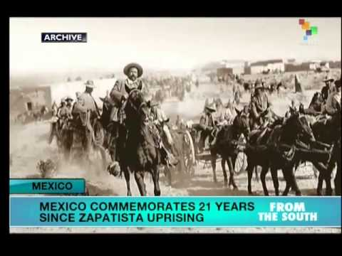 21 Years since Zapatista uprising in Mexico