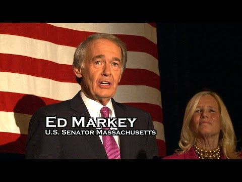U.S. Senator Ed Markey Massachusetts  Victory Speech