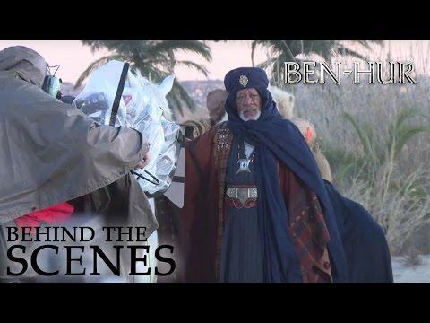 BEN HUR | Morgan Freeman | Official Behind the Scenes