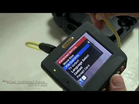 General Tools DCS660 Sea Scope Waterproof Video Inspection System