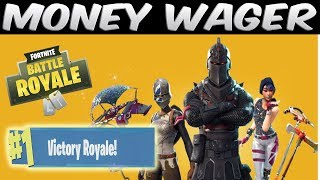 2v2 MONEY WAGER SUPER CLUTCH WIN! Fortnite Battle Royale Gameplay