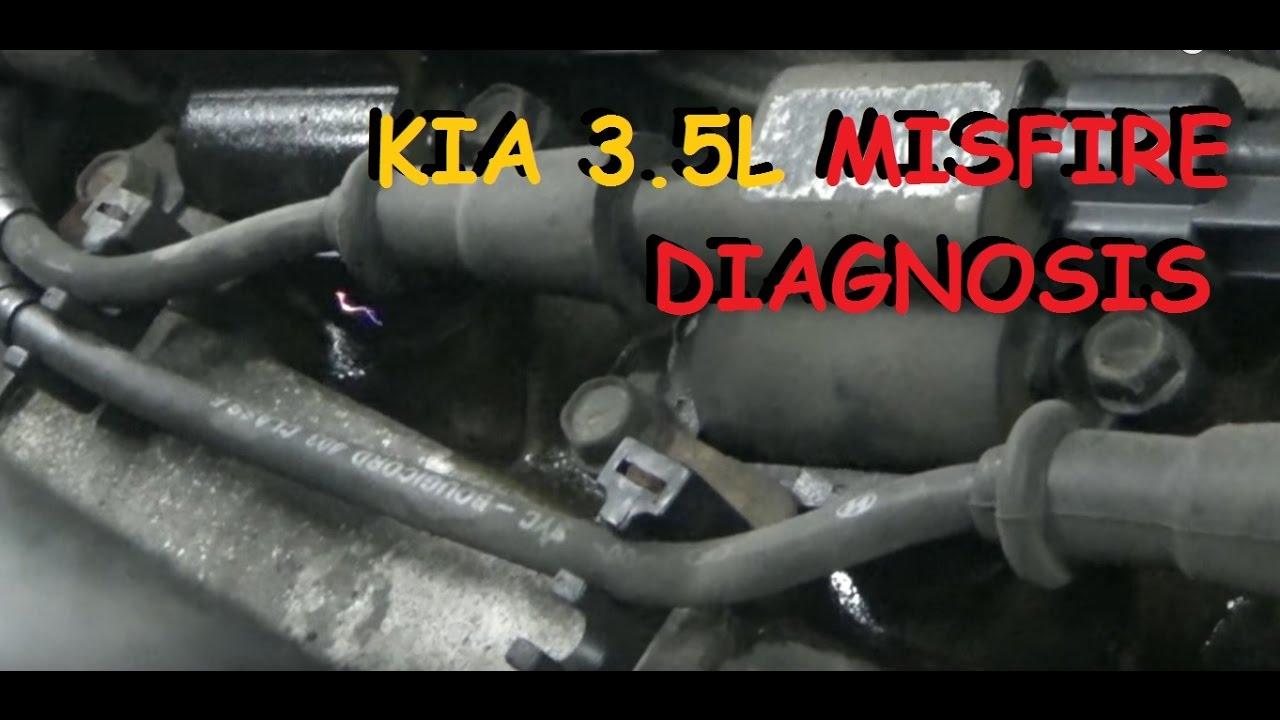 hight resolution of misfire diagnosis kia sedona