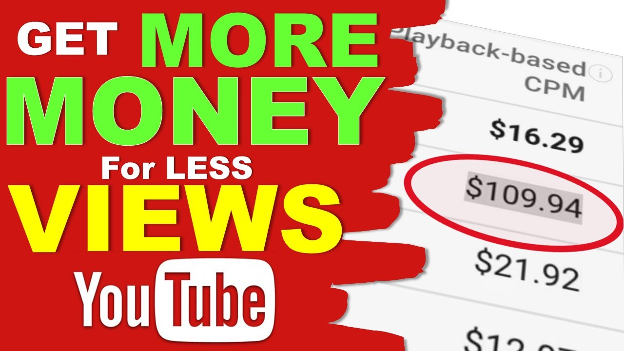 How to EARN MONEY from YouTube VIEWS 💥 YouTube Monetization