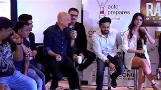 Uncut | Ranchi Diaries Trailer Launch | Anupam Kher | Mahesh Bhatt | Jimmy Shergill