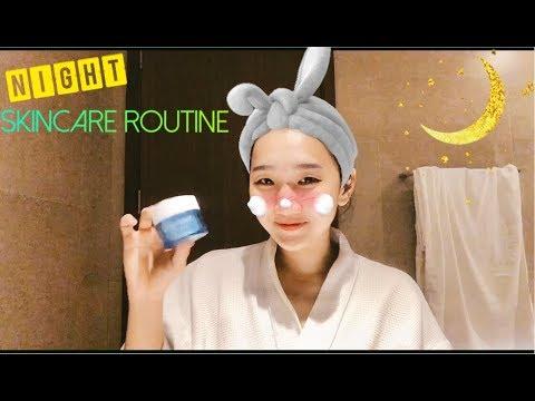 Các Bước Dưỡng Da Ban Đêm Của Tâm – Night Time Skincare Routine| TAMDANG6595
