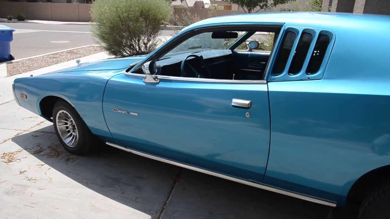 1974 Dodge Charger Se Brougham 440 V8 That I Ve Restored