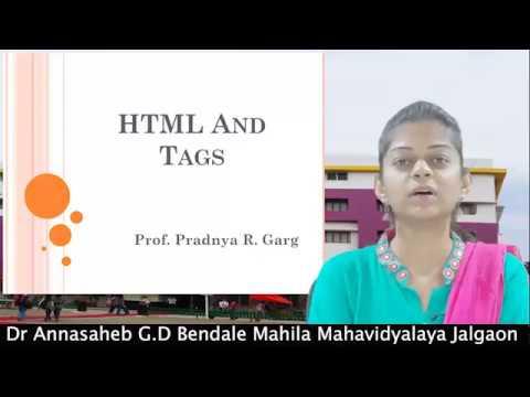 BCA: HTML and Tags by Padnya G...