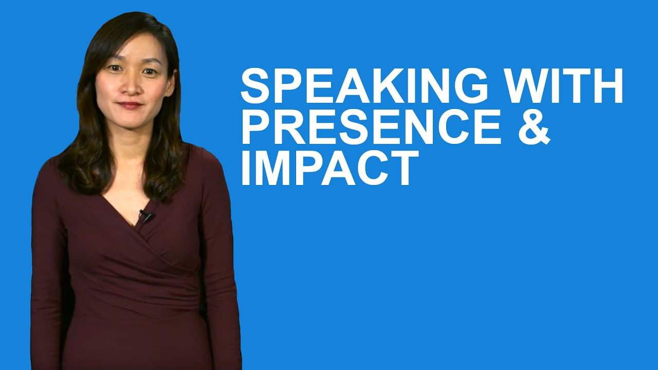 Speaking with Presence & Impact - Learn From Cynthia Zhai, Voice Coach