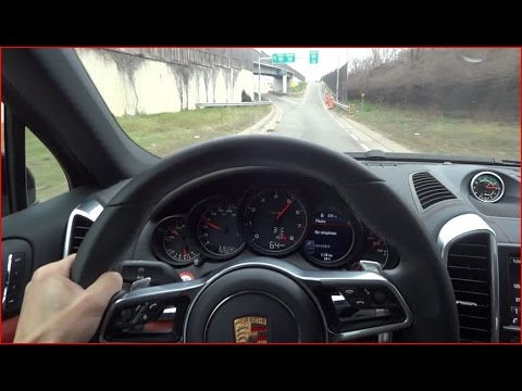 2016 porsche cayenne acceleration driving and tour