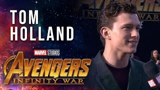 Tom Holland Live from the Avengers: Infinity War Premiere