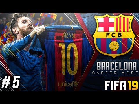 FIFA 19 Barcelona Career Mode EP5 - Unbelievable Overhead Kick!!! UCL Drama vs Inter Milan!!
