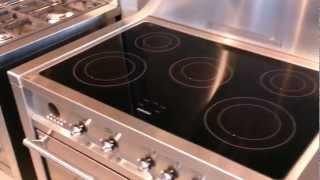 CS19ID7 - Video SMEG inductie fornuis rvs | De Schouw Witgoed