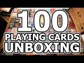 UNBOXING - 100 DECKS OF PLAYING CARDS MURPHY'S MAGIC