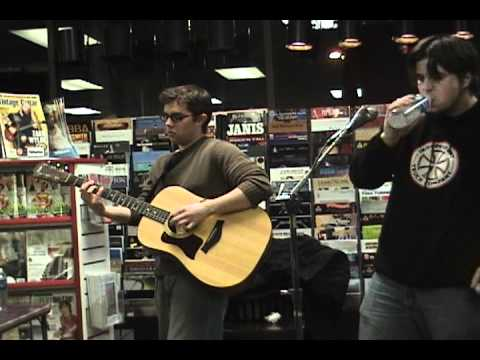 Sinch Acoustic Set Live Multicam Doylestown PA @ Trac Records Full Set 03.25.05 CTC CD Signing
