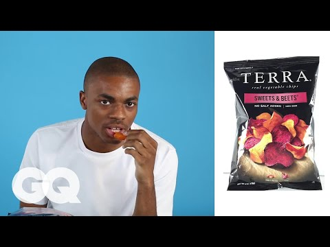Vince Staples Reviews Every F**king Health-Food Snack | GQ