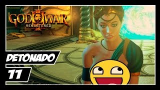 GOD OF WAR 3 REMASTERED - Detonado #11 - HÉRCULES E PRINCESA POSEIDON!! ( ͡° ͜ʖ ͡°)