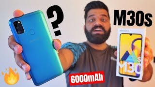 Samsung Galaxy M30s Unboxing & First Look - The NEW Performer #GoMonster🔥🔥🔥