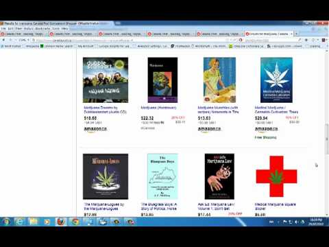 Marijuana Books - Canada Post, Canadian Government owned, sells pot books