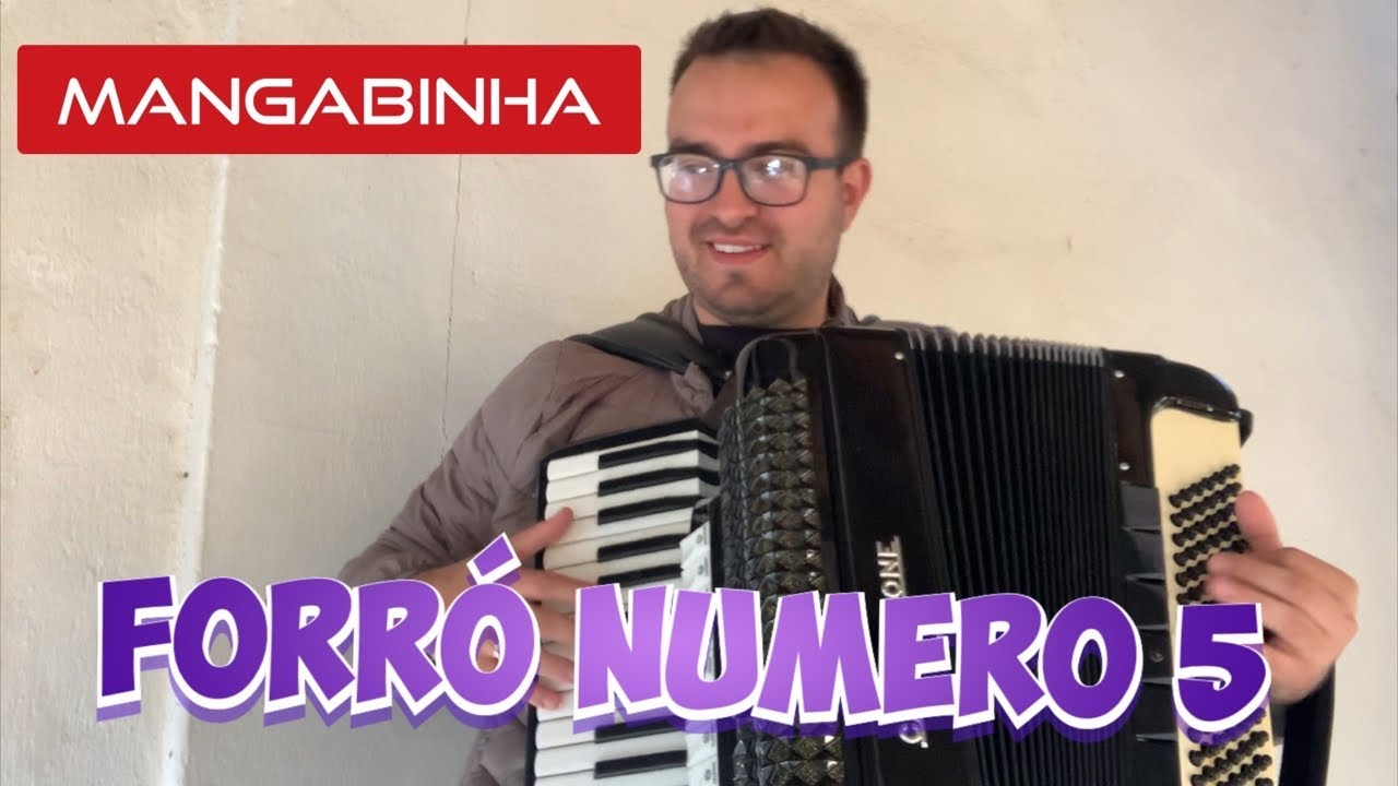 Forró número 5 - Mangabinha - Video aula