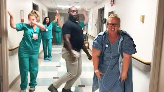 Florida Mom-to-Be Dances With Husband and Nurses Before Delivering Baby