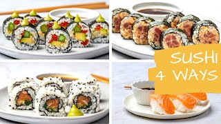 4 Easy Sushi Recipes - How To Make Sushi At Home Like A Pro - Blondelish