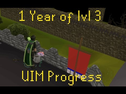 1 Year of Ultimate lvl 3 Ironman progress - Navus