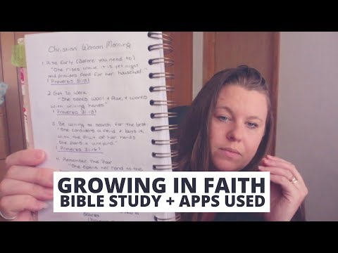 Bible Study Habits | Apps I Use + Prayer Routine | Christian