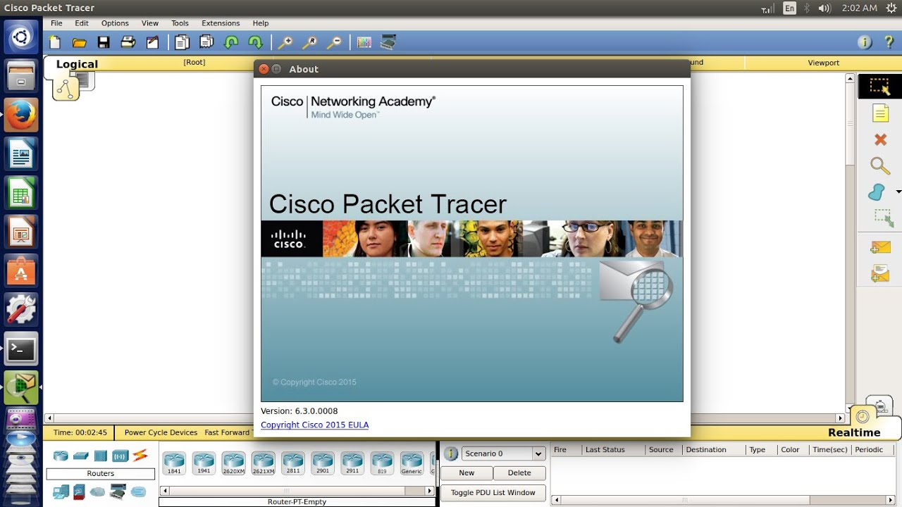 packet tracer linux download