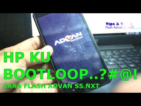 Tutorial Flash ADVAN S5 NXT, Gratis Frimware