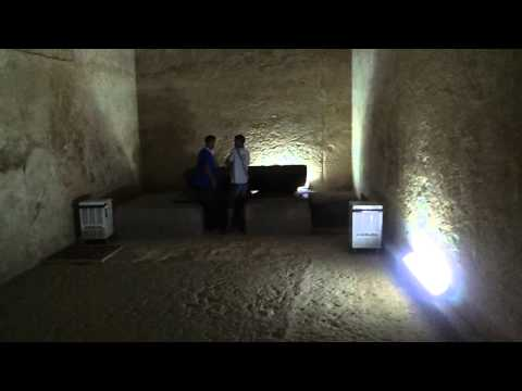 Inside Great Pyramid in Cairo