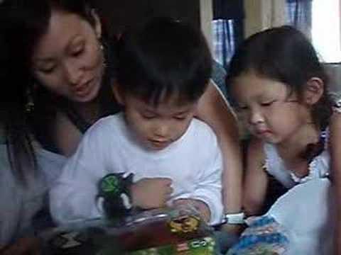 Joshua opening Aunt Sal
