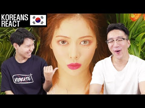 HyunA - Babe Reaction!!