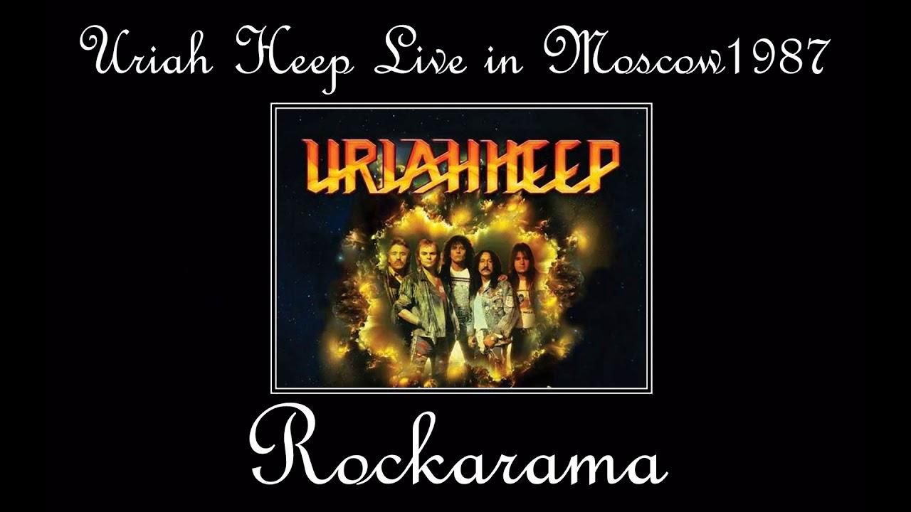 Uriah Heep Rockarama Rare Live In Moscow Youtube